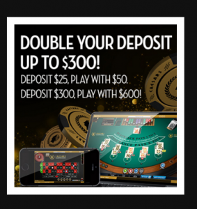 $300 casino bonus codes