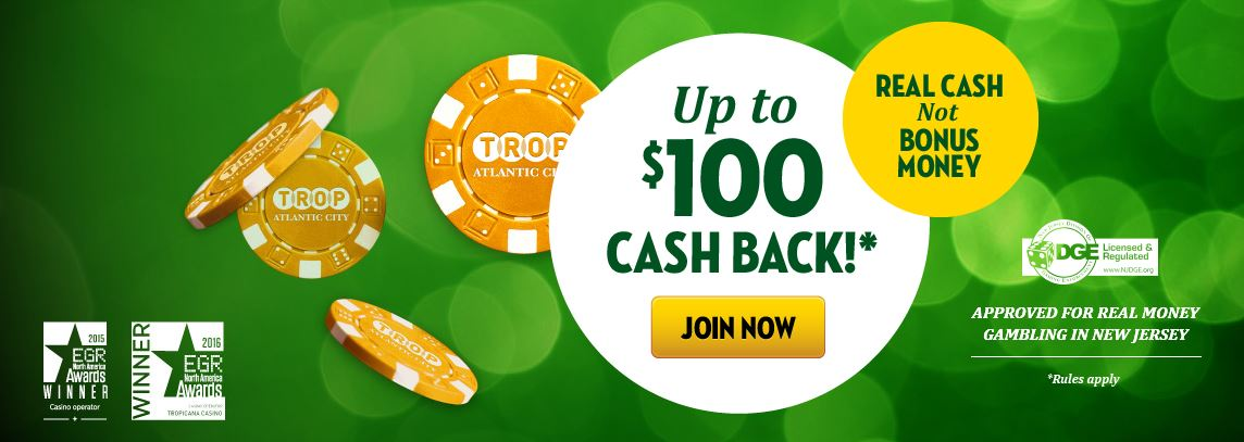 What do you get with the Tropicana Promo Code BCTROP10
