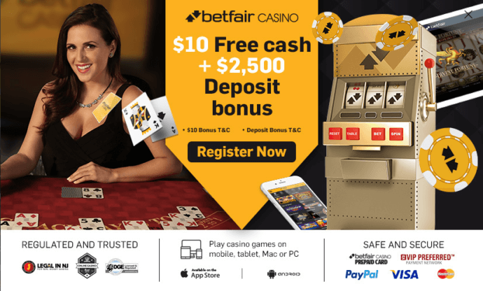 Betfair NJ promo code