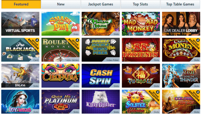 betfair casino NJ slot machines