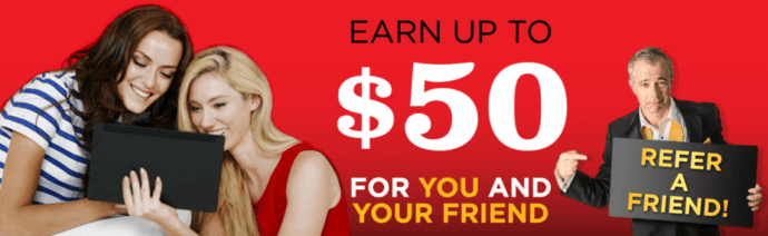 Golden Nugget Online refer a friend bonus