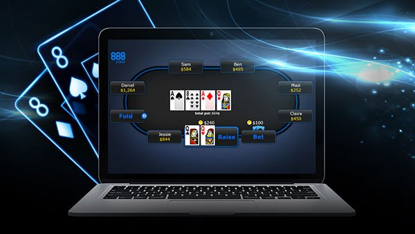 Best NJ Online Poker: 888